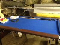Pool Table 6x3 foot