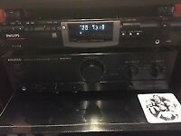 Philips CD Player Rewrighter & Kenwood amplifier