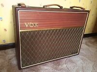 Vox AC30H2L 50th Anniversary Mahogany Hand Wired AC30 Stunning and Rare!