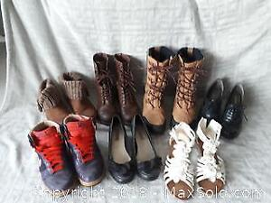 Size 7.5 and 8 Womens Shoes and Boots