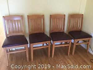 7 Mission Style Chairs