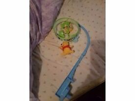 Winnie the pooh baby mobile