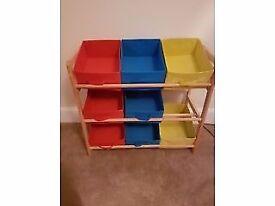 3 Tier childs storage unit