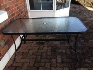 Glass Top Outdoor Table Newstead Launceston Area Preview