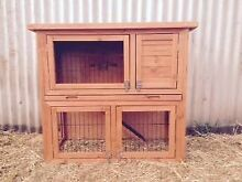 Double Storey Rabbit/Guinea Pig Hutch Package PH: 0 Blacktown Blacktown Area Preview