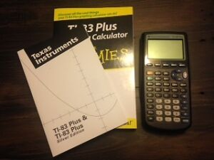 TI - 83 Plus Graphing Calculator