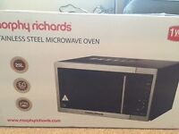 MORPHY RICHARDS COMBINATION MICROWAVE OVEN 25L