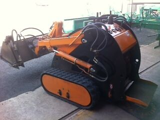 New Ground Hog Skid Steer with over ten optional implements Hatton Vale Lockyer Valley Preview