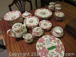 F. Royal Albert China A