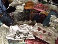 Bundle of girls clothes age 8-9