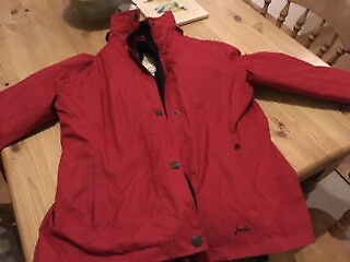 Ladies Red Jacket from Joules