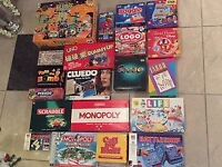 Selection of Classic Board Games all excellent condition from £3.00
