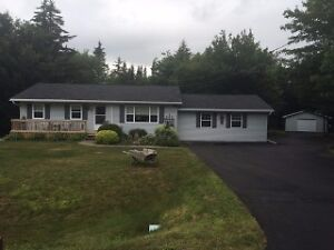 Private acre lot; 2 car garage; many updates!!