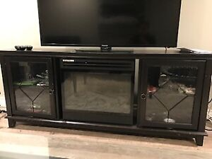 Moving Sale!!!!  TV Unit with Electric Fire Place