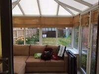 Two Glass Sided Conservatory (Glass, Doors and Roof)