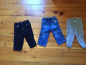 12-18 month baby boy clothing + baby lotion