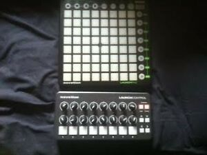NOVATION LAUNCHPAD & LAUNCH CONTROL MIDI CONTROLLER
