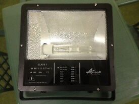 Ansell Orion Die Cast HQI 250W Floodlight (A250MHL) (Black)