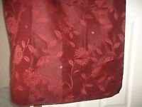 Curtains for static caravan, terracotta, good condition