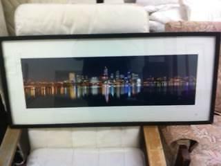 1 Perth WA City Scape - Sea Scape Picture Frame Matraville Eastern Suburbs Preview