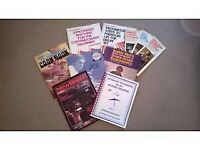A Collection of Classic Drum Tutor Books + Drum Sheet Music