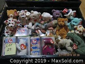 Beanie Baby Collection.