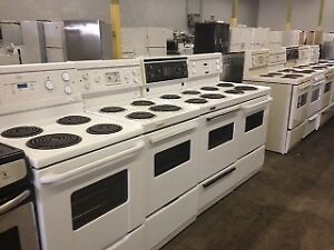 White Apartment Size Stoves