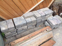 Block paving for driveway or path