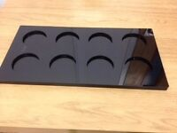 Acrylic Cupcake Tray - Black