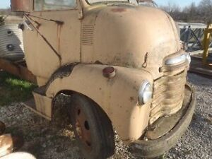 1950 Chevrolet Coe Cabover patina rat rod car hauler