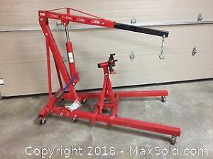 2 ton Engine Hoist with - Great condition works perfectly