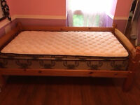 BRAND NEW TWIN MATTRESS AND BED!