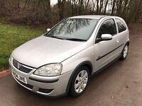 CHEAP Vauxhall Corsa 1.2 i 16v SXi 3dr 2005• 54 REG+MOT JAN-18+VGC