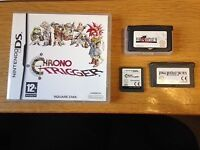 CHRONO TRIGGER, FINAL FANTASY TACTICS and FINAL FANTASY VI *FOR SALE individually or as bundle*