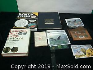 Royal Canadian mint coins and coin books......w