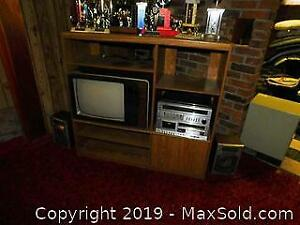 TV Cabinet and Electronics B