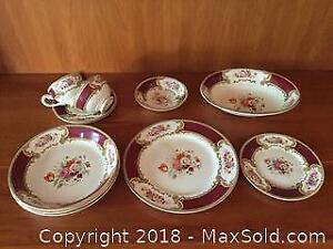 Vintage Staffordshire Myotts Royal Crown