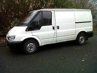 55 reg ford transit van *tax & mot* 260 swb turbo diesel  **no vat**.