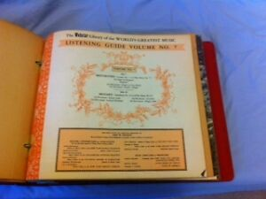 Webster Library of The World's Greatest Music - 14 LPs Kitchener / Waterloo Kitchener Area image 3