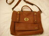 Tan leather O&N bag
