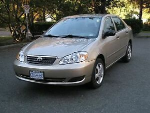 Excellent Toyota Corolla For Sale!
