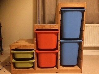 Ikea Trofast Children's Storage including boxes
