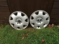 "2 Volkswagen 15"" 7 Spoke Rims"