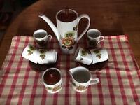 Myott England, Del Rio 15 piece Coffee Set