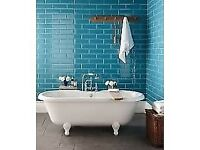 20 x Topps Tiles Diamante Tiles - TEAL - 29.7cm x 9.7cm - Over Purchased!