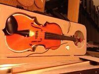 Ciurba Nicolae 4/4 Violin & Sandner B-15S 4/4 Bow