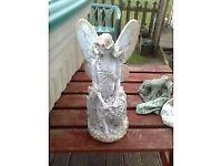 garden ornament of an angel