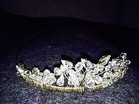 Bridal Prom Party Crystal Tiara (Linzi Jay) IN BOX