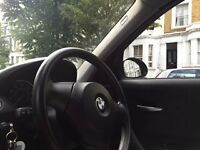 BMW 1 Series, Silver, Black Leather Interiors, 1 year MOT & Full Service History - £3,799 (ono)