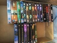dvds large selection + boxsets